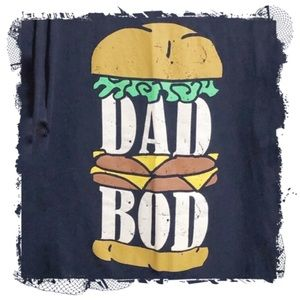 ❤️3/$30 Dad Bod graphic t-shirt. 3XL
